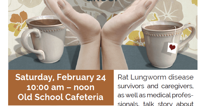 Rat Lungworm disease Survivors Support Group 2/24