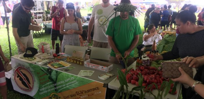 RLW outreach at the East Maui Taro Festival